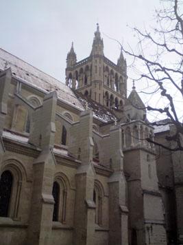 La cathédrale de Lausanne