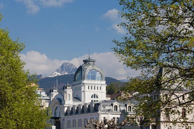 Evian-les-Bains, ville d'eau Belle Epoque