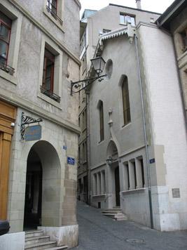 Le Réveil ou le renouveau du protestantisme à Genève, histoire et architecture
