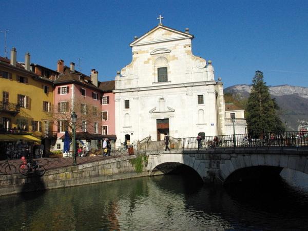 Annecy, sur les pas de Saint François de Sales